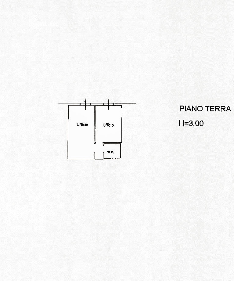 Planimetria 1/1 per rif. AF5611