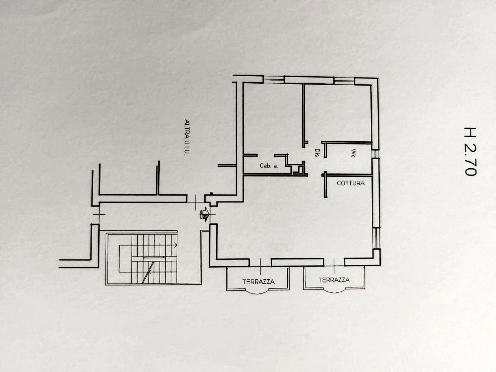 Planimetria 1/1 per rif. IA5546