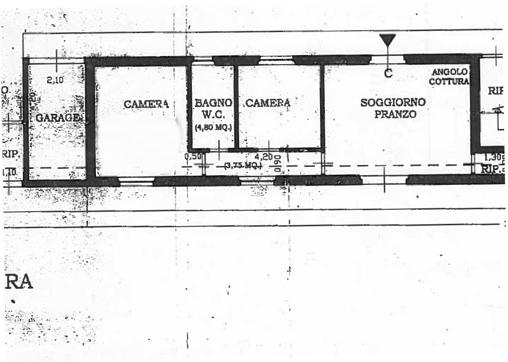 Planimetria 1/1 per rif. IA5550