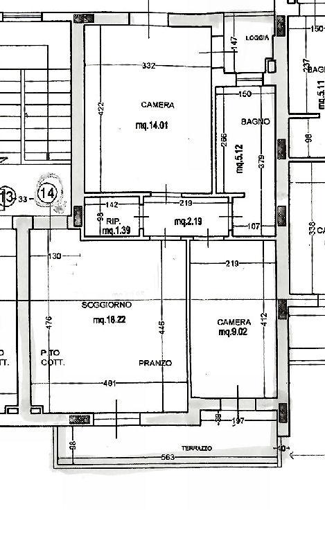 Planimetria 1/1 per rif. IA5562