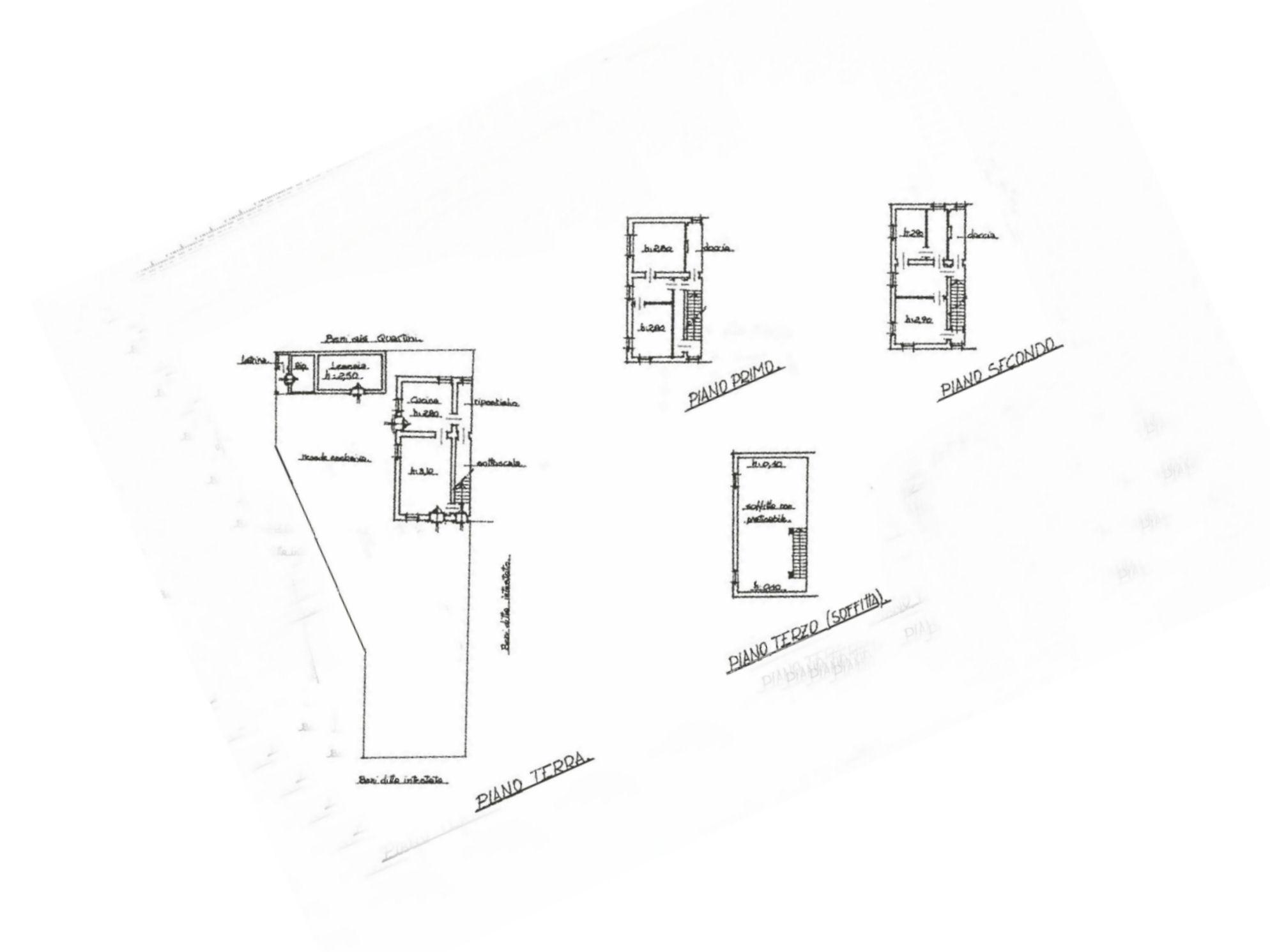 Planimetria 1/1 per rif. IA5567