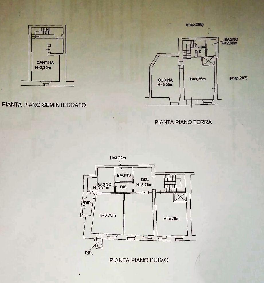 Planimetria 1/1 per rif. IA5569