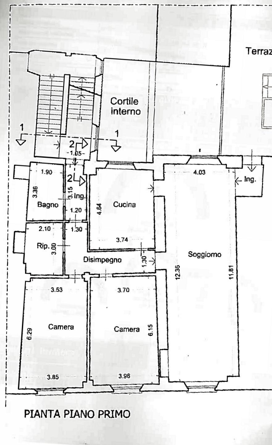 Planimetria 1/1 per rif. IA5570
