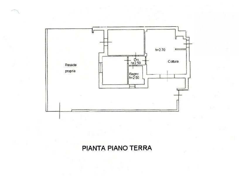 Planimetria 1/1 per rif. IA5574