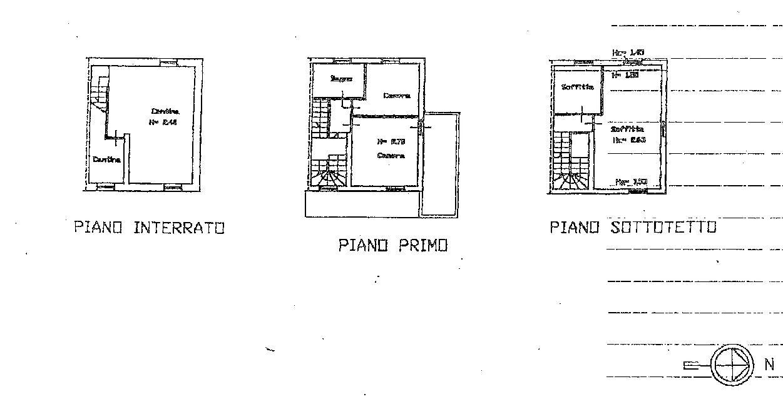 Planimetria 2/2 per rif. IA5582