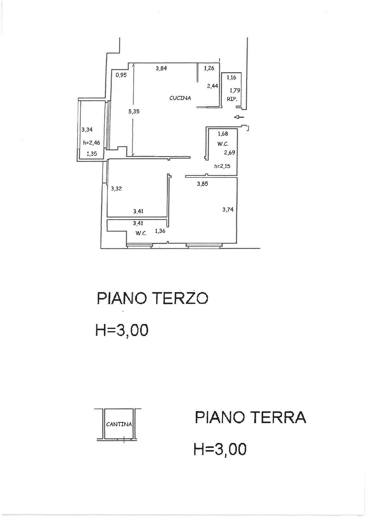 Planimetria 1/1 per rif. IA5589
