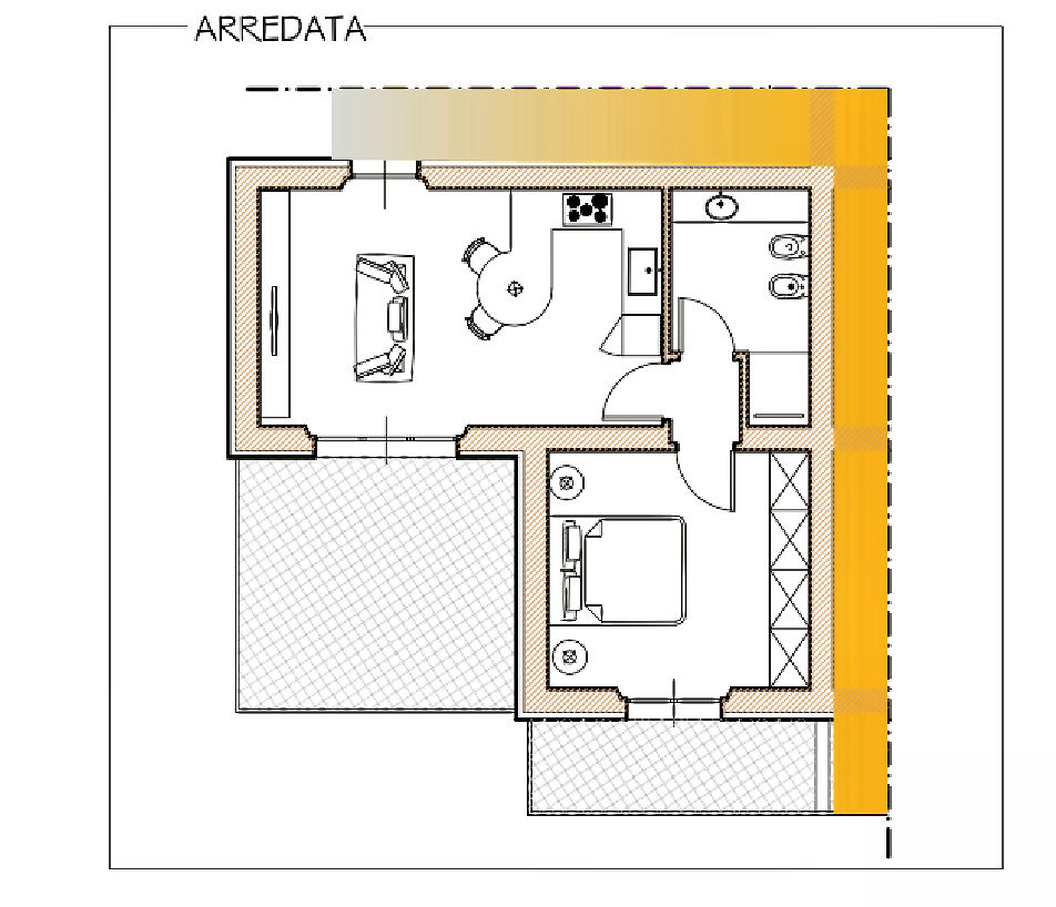 Planimetria 1/1 per rif. IA5603