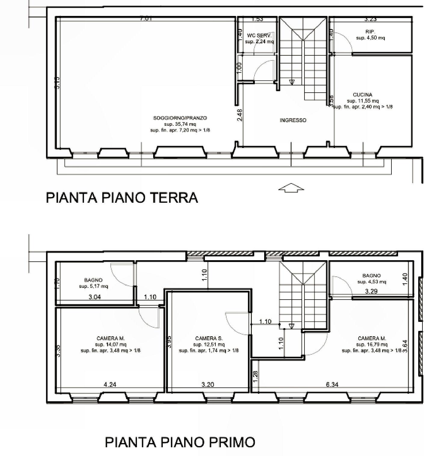 Planimetria 1/1 per rif. IA5606