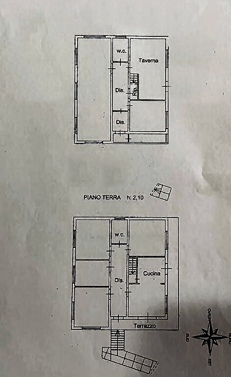 Planimetria 1/3 per rif. IA5608