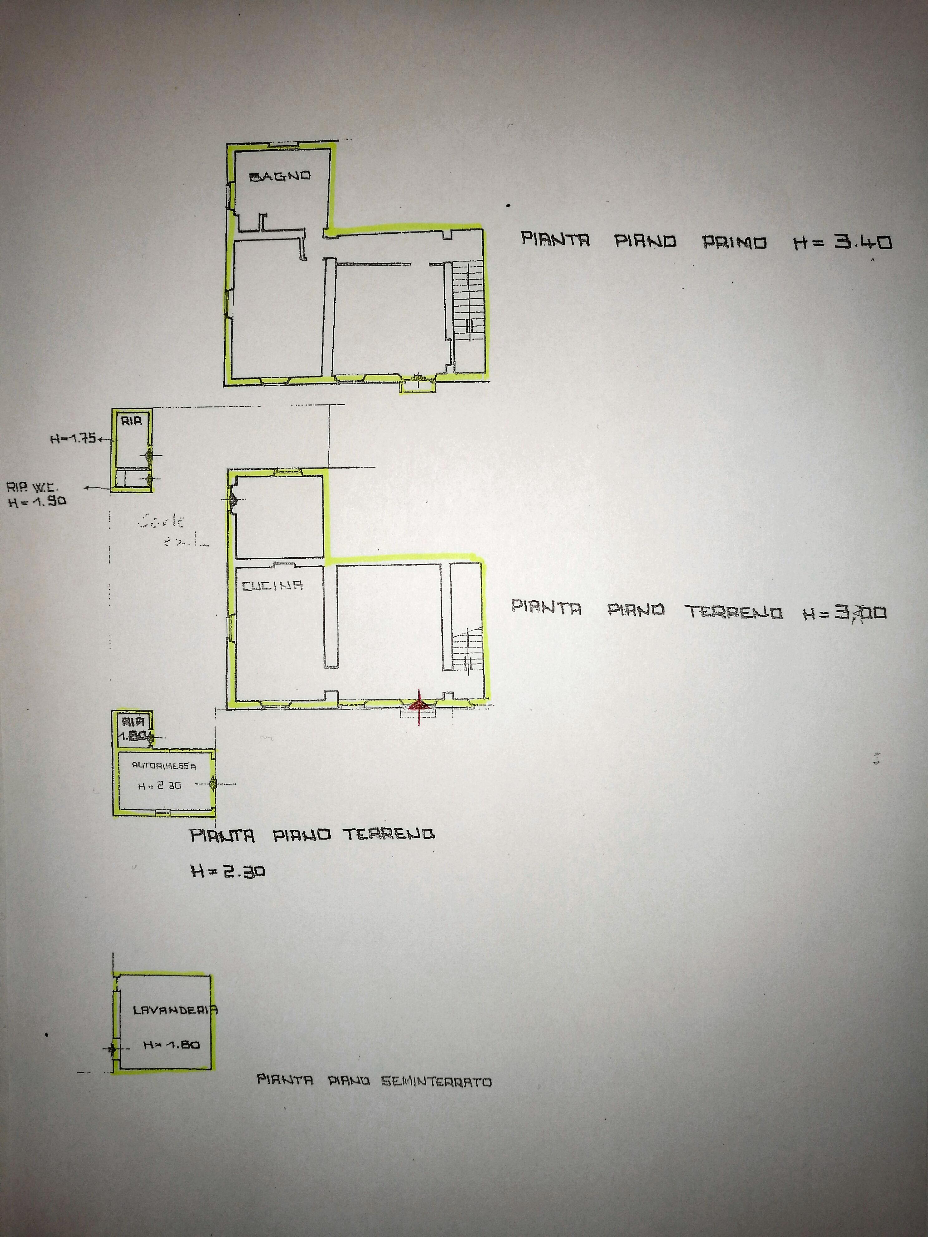 Planimetria 2/3 per rif. IA5617