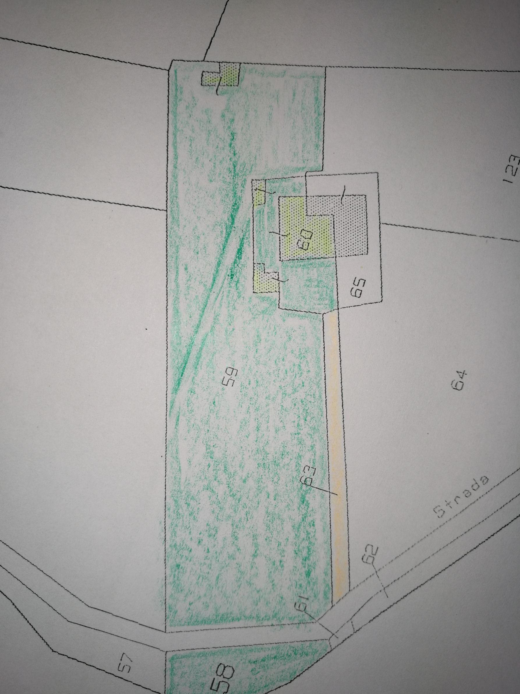 Planimetria 1/3 per rif. IA5617