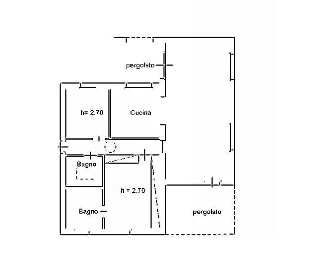 Planimetria 2/2 per rif. IA5623