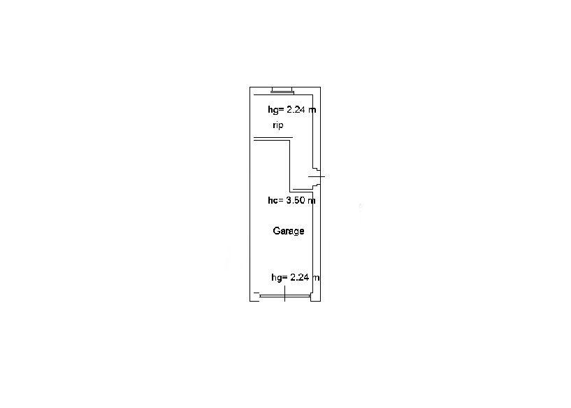 Planimetria 1/2 per rif. IA5623