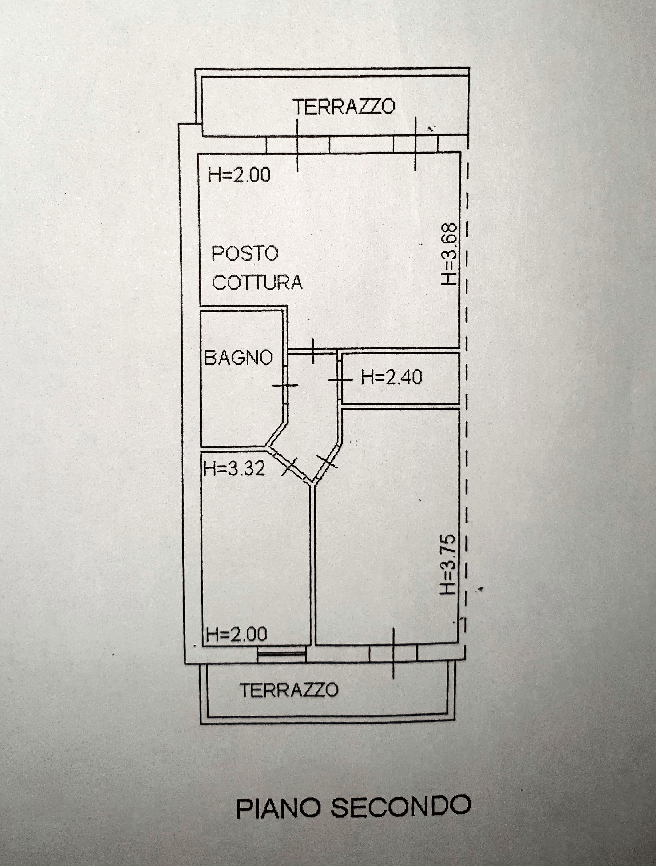 Planimetria 1/1 per rif. IA5626