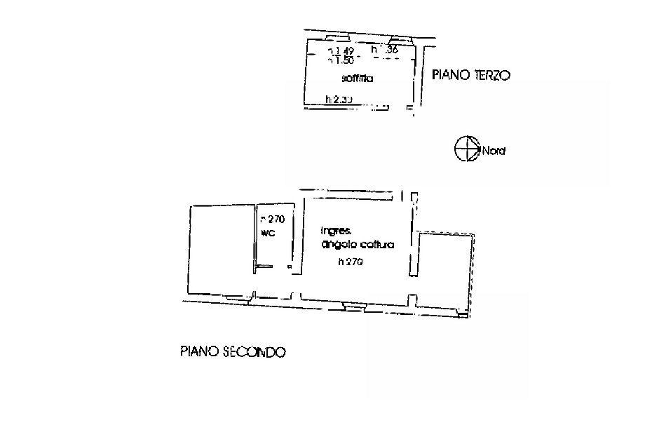 Planimetria 1/2 per rif. IA5627