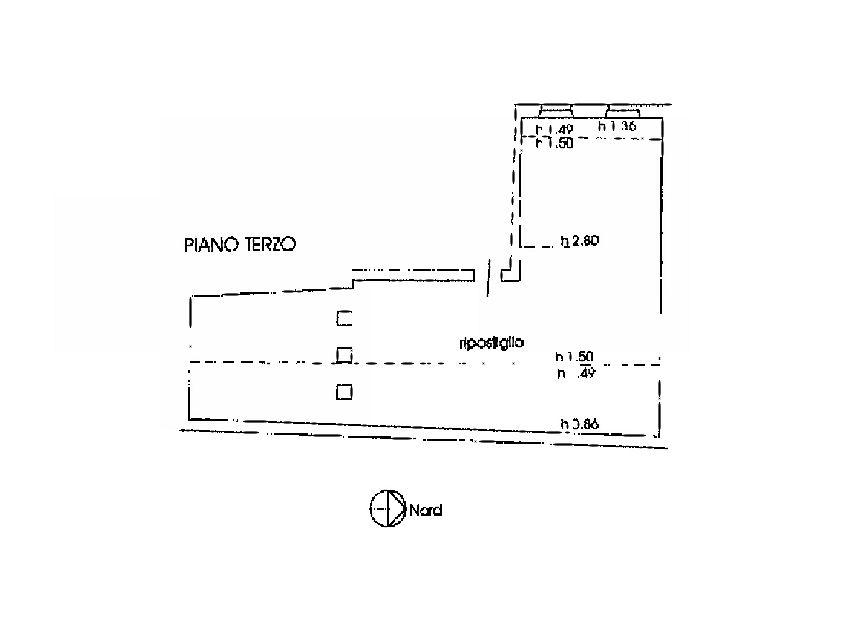 Planimetria 2/2 per rif. IA5627