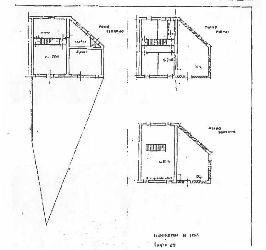 Planimetria 1/1 per rif. IA5638