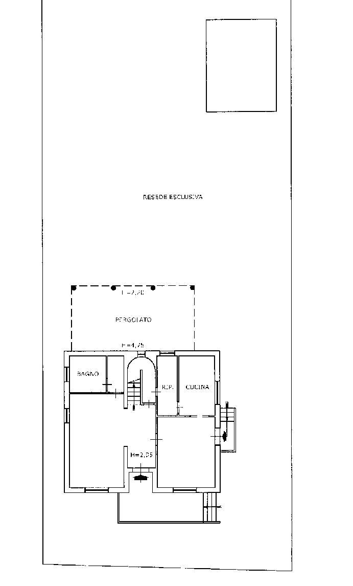 Planimetria 1/2 per rif. IA5645