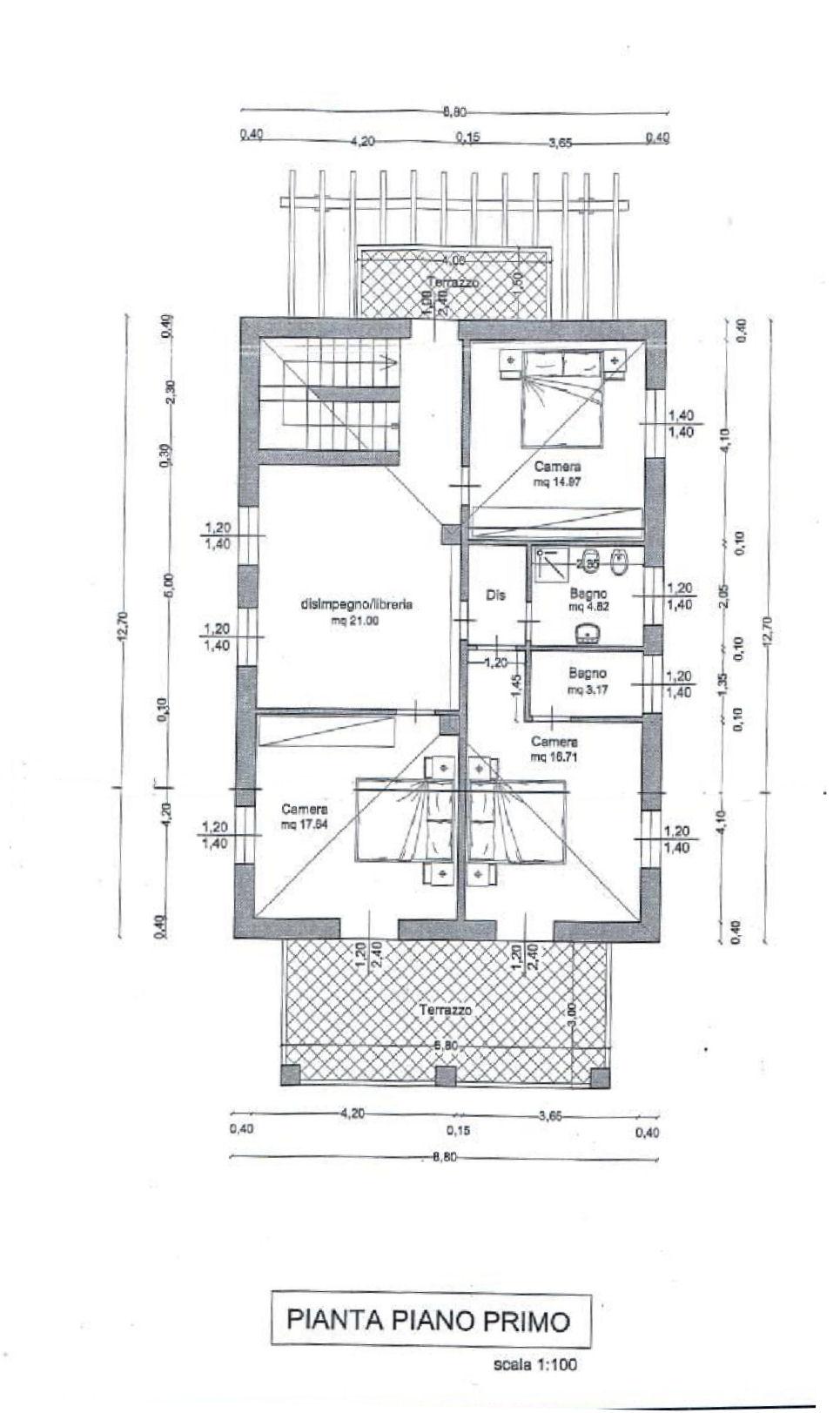 Planimetria 2/5 per rif. IA5647