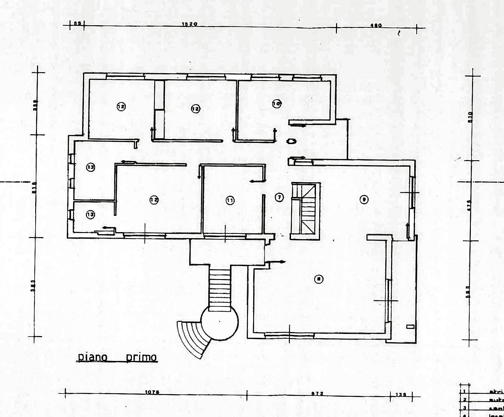 Planimetria 1/3 per rif. IA5649