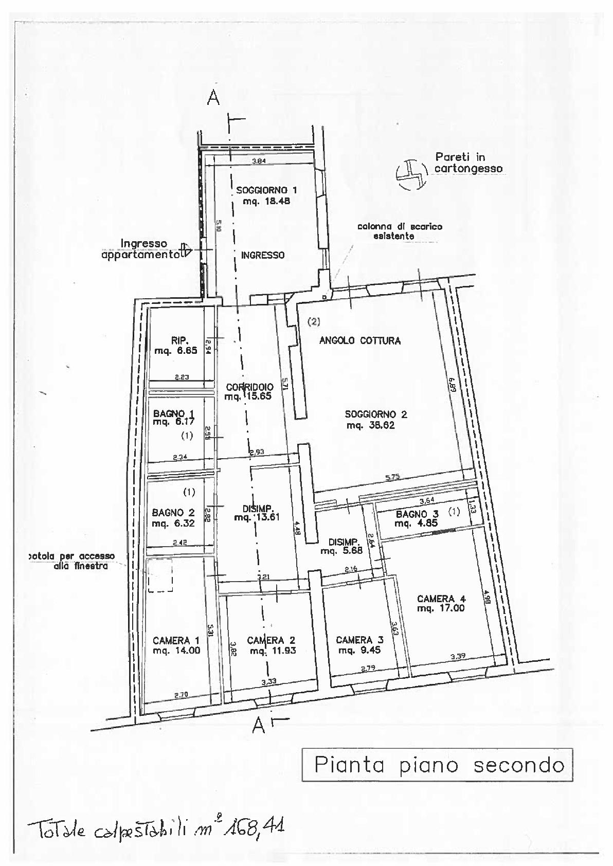 Planimetria 1/1 per rif. IA5658