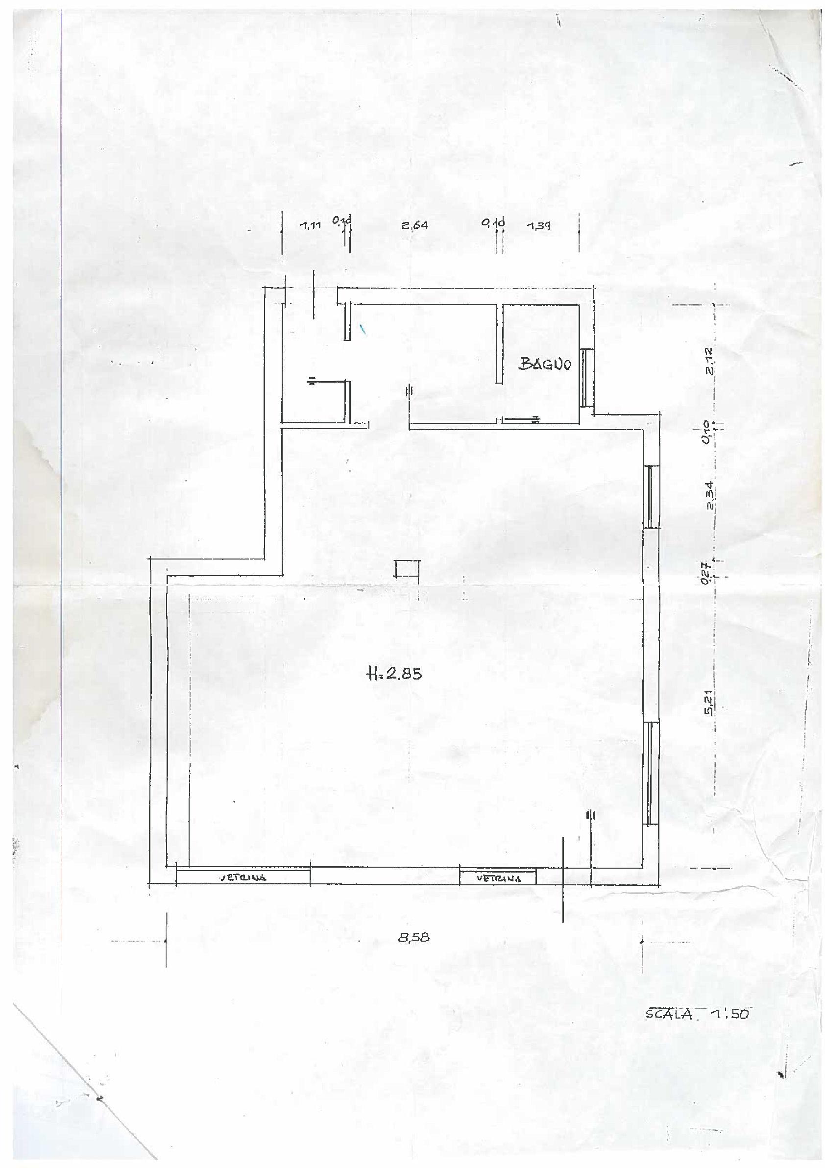 Planimetria 1/1 per rif. UF5660