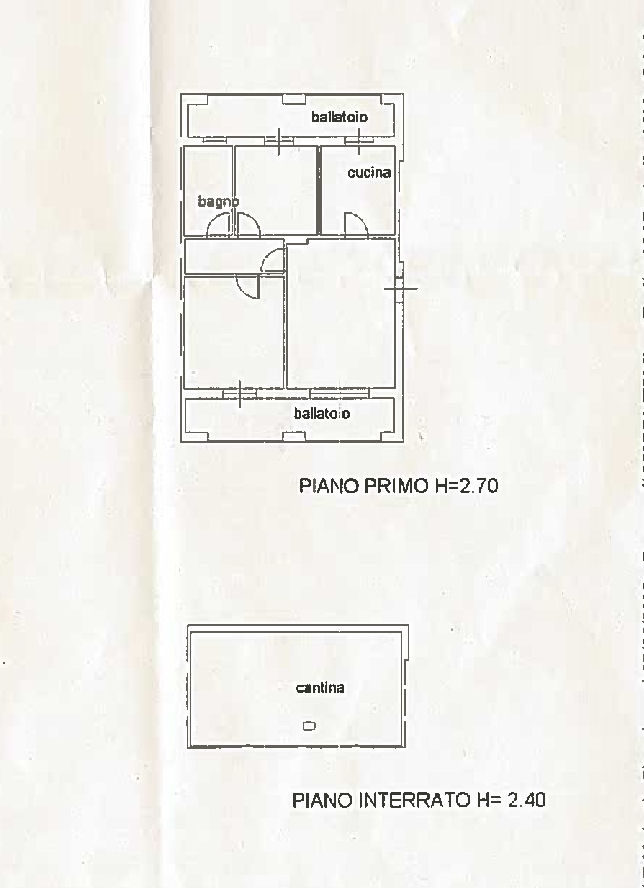 Planimetria 1/1 per rif. IA5664