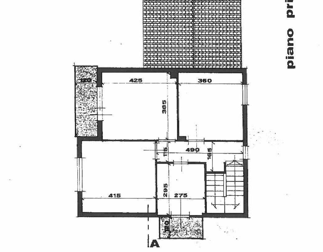 Planimetria 2/2 per rif. IA5665