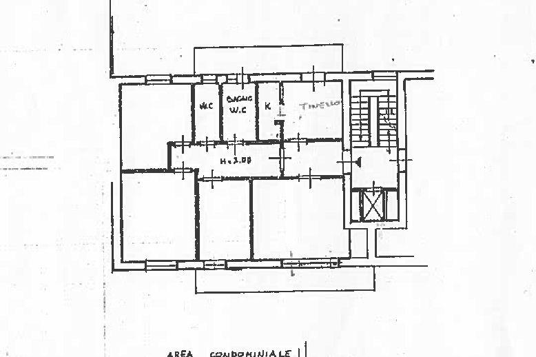 Planimetria 1/1 per rif. IA5668