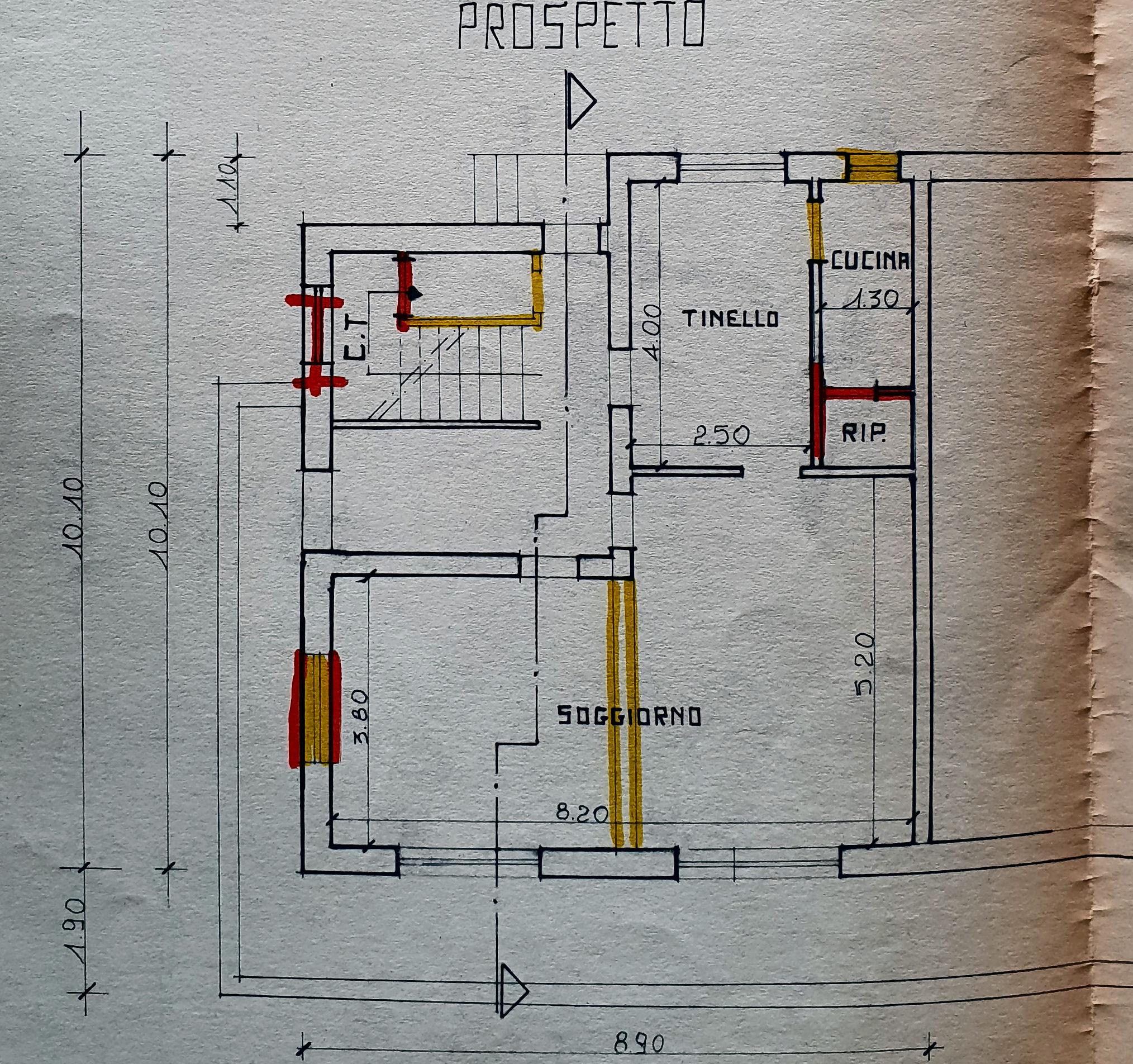 Planimetria 1/2 per rif. IA5670