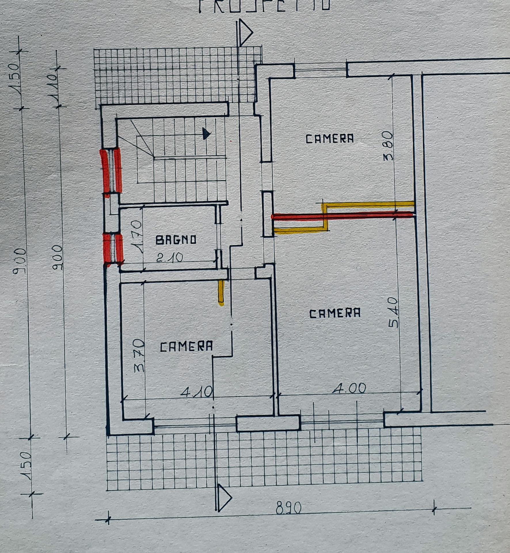 Planimetria 2/2 per rif. IA5670