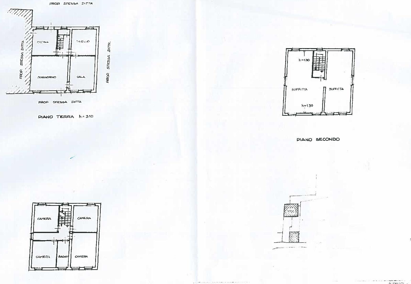 Planimetria 1/1 per rif. IA5674