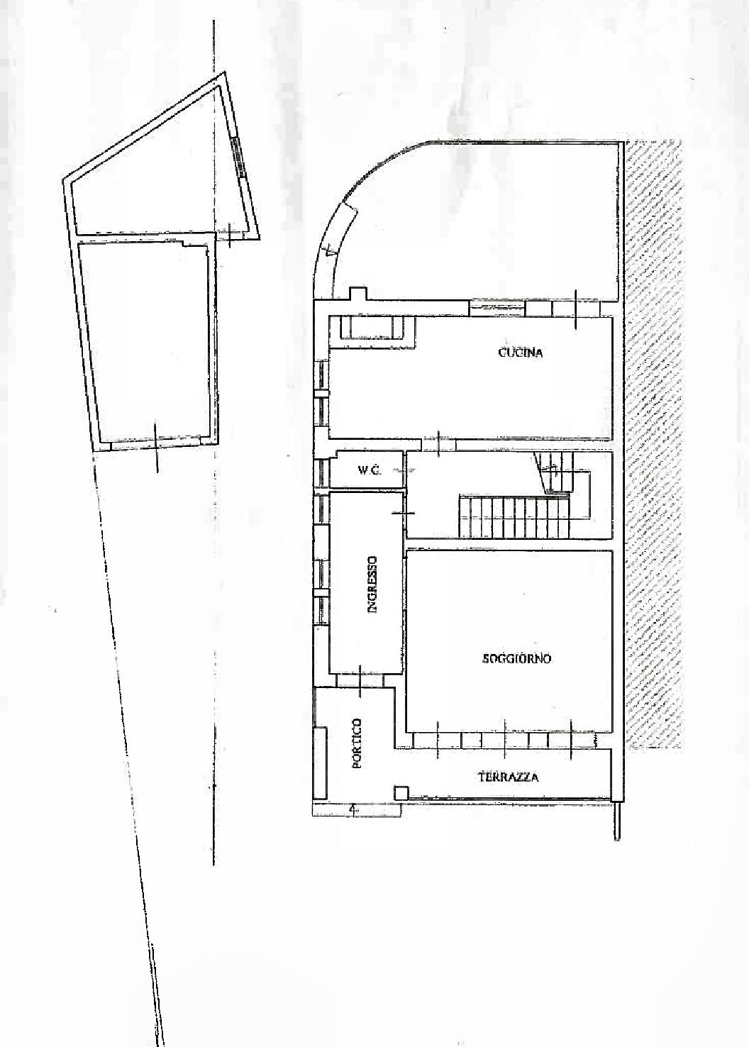 Planimetria 1/2 per rif. IA5677
