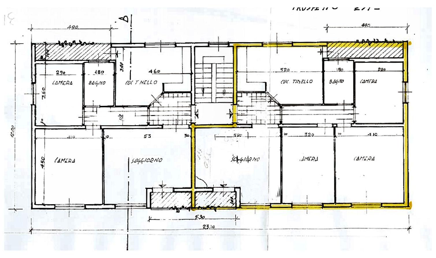 Planimetria 1/1 per rif. IA5679
