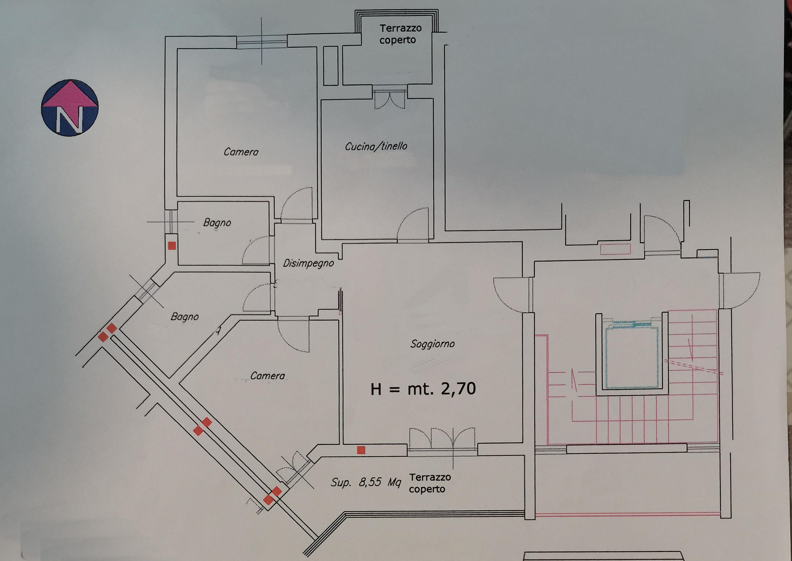 Planimetria 1/1 per rif. IA5680