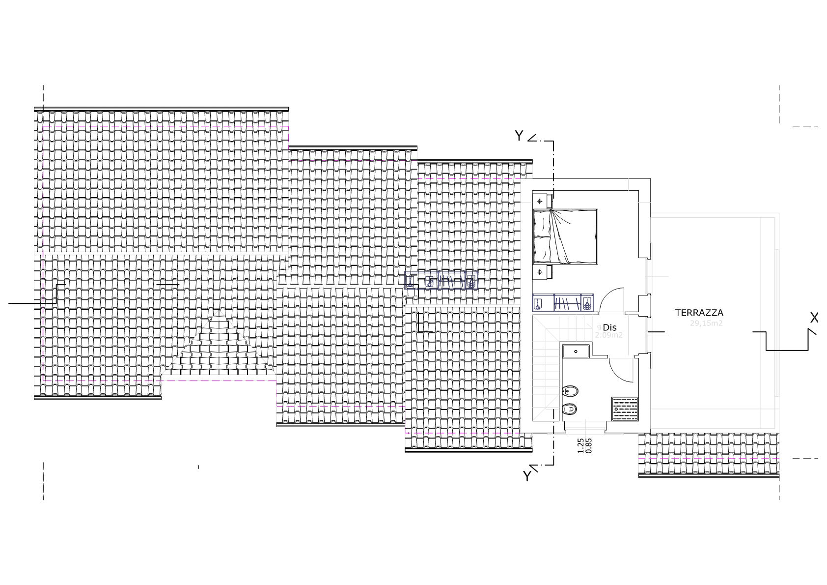 Planimetria 2/2 per rif. IA5684