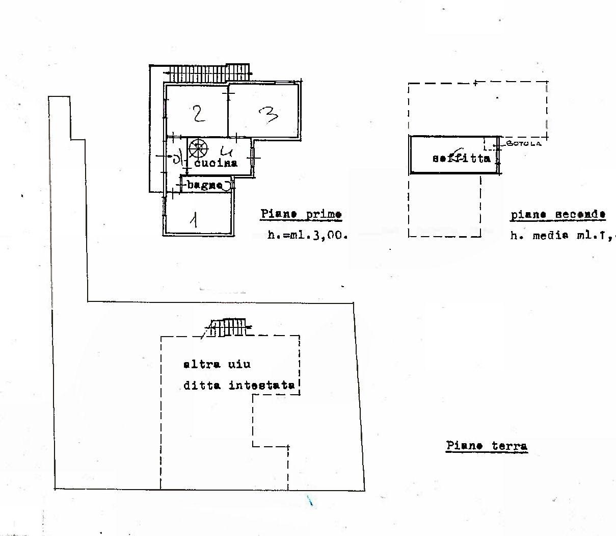 Planimetria 2/2 per rif. IA5688