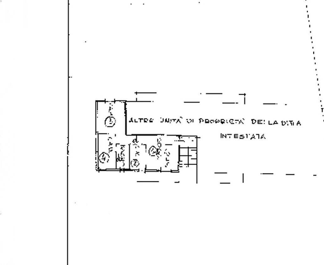Planimetria 1/1 per rif. IA5693