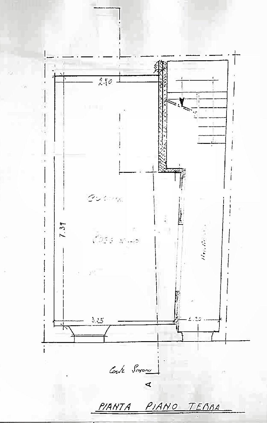 Planimetria 1/4 per rif. IA5694