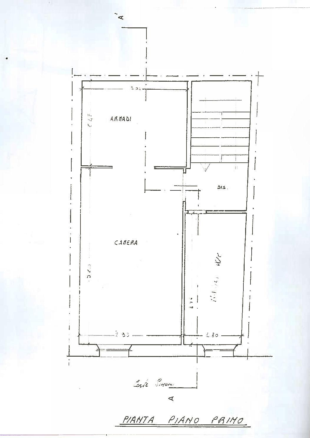 Planimetria 3/4 per rif. IA5694