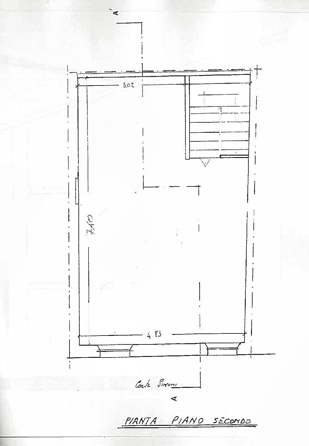 Planimetria 2/4 per rif. IA5694