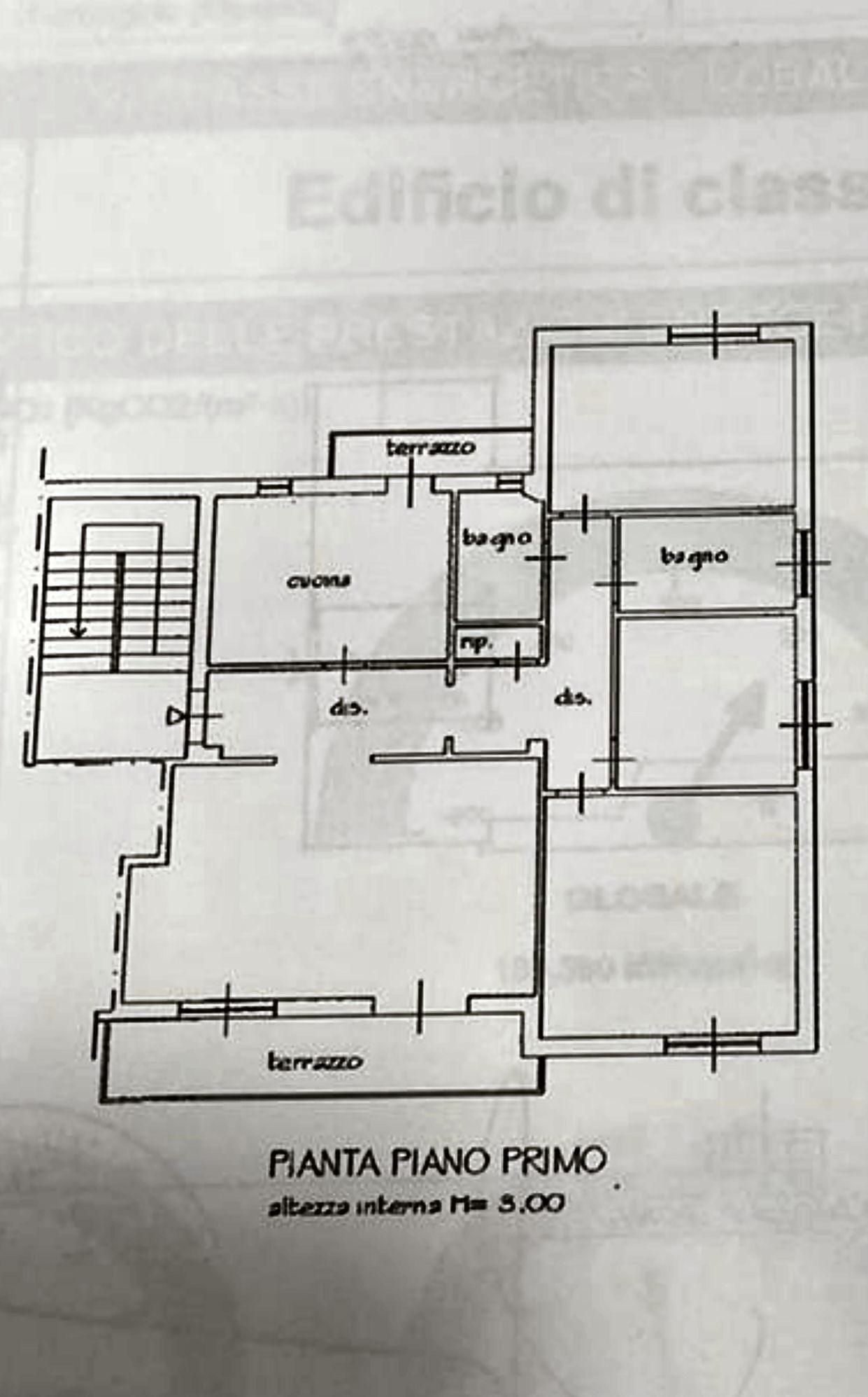 Planimetria 1/1 per rif. IA5696