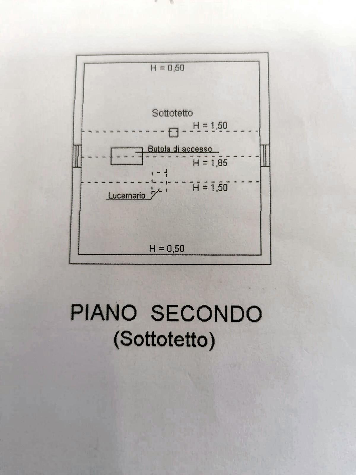 Planimetria 3/3 per rif. IA5698