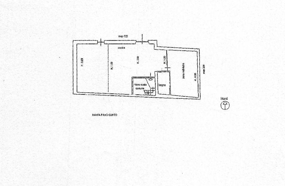 Planimetria 2/2 per rif. IA5699