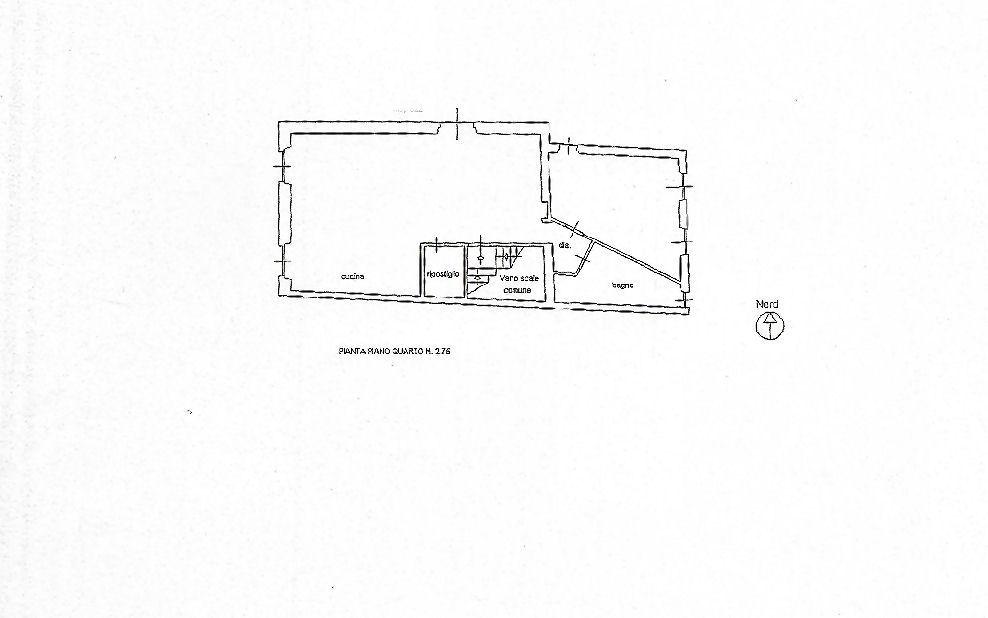 Planimetria 1/2 per rif. IA5699