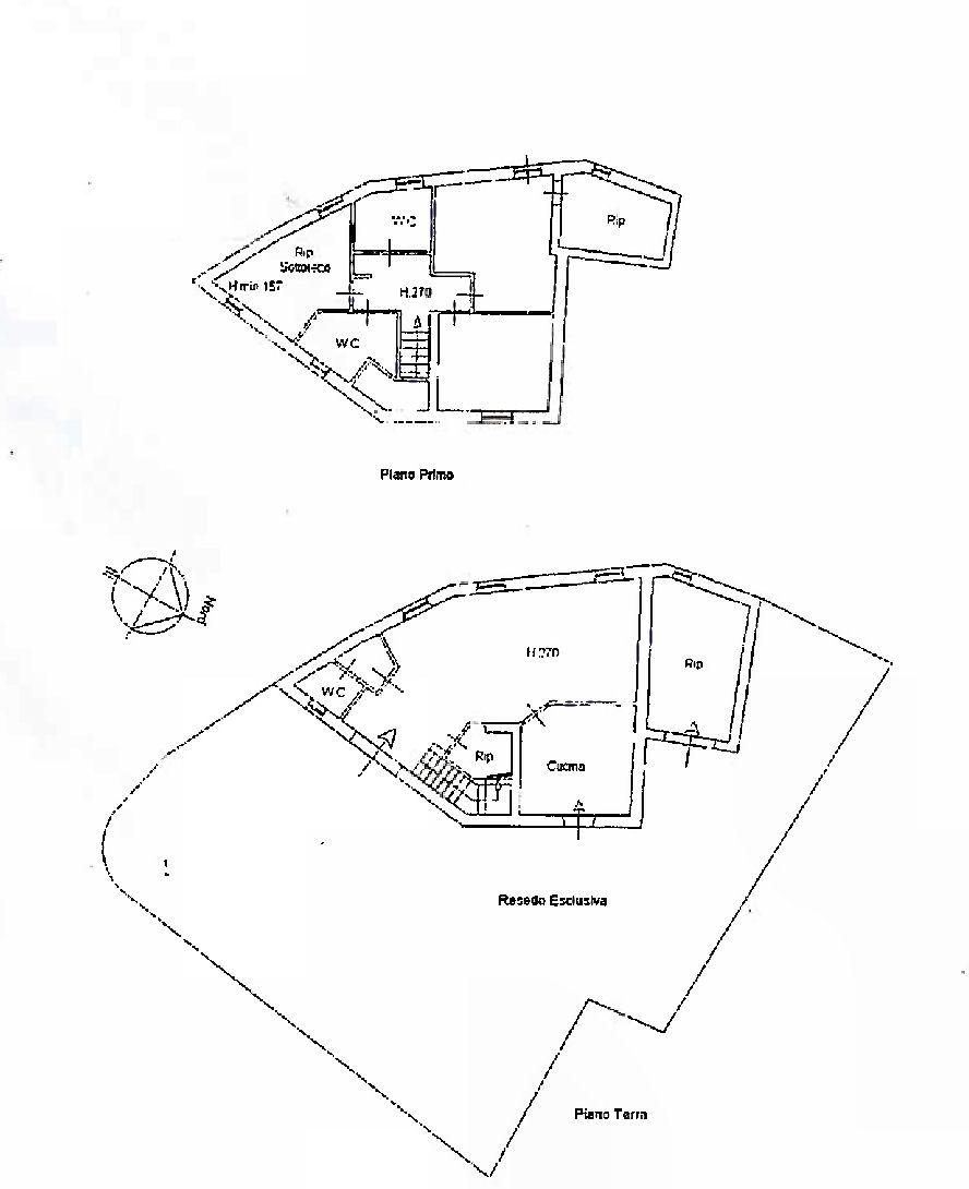 Planimetria 1/1 per rif. IA5701