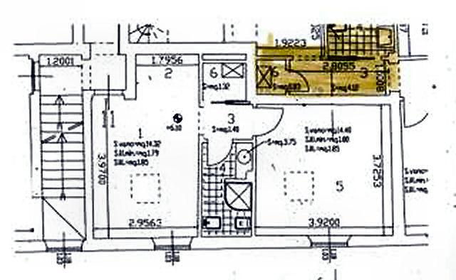 Planimetria 1/1 per rif. IA5713