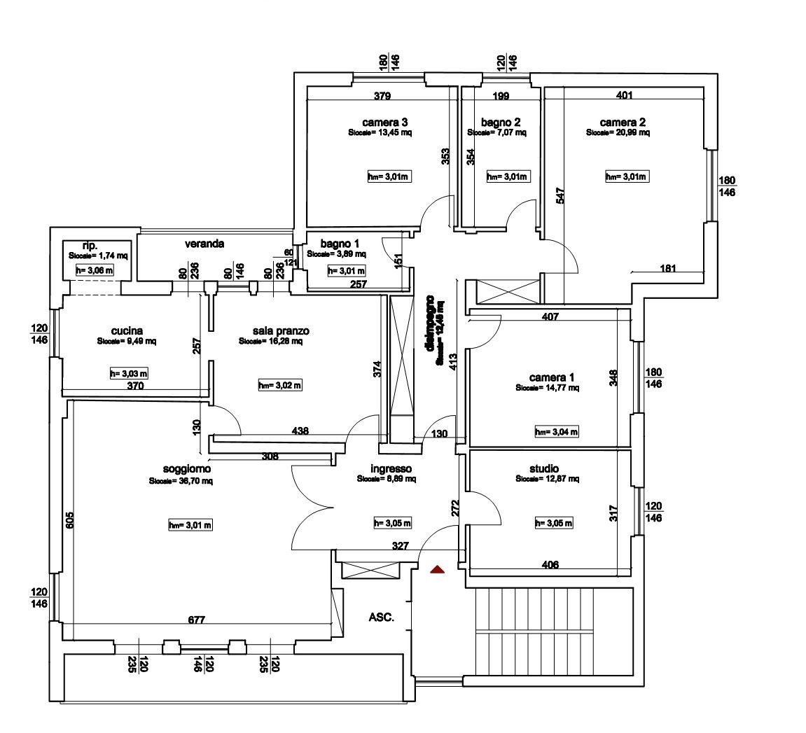 Planimetria 1/1 per rif. IA5734