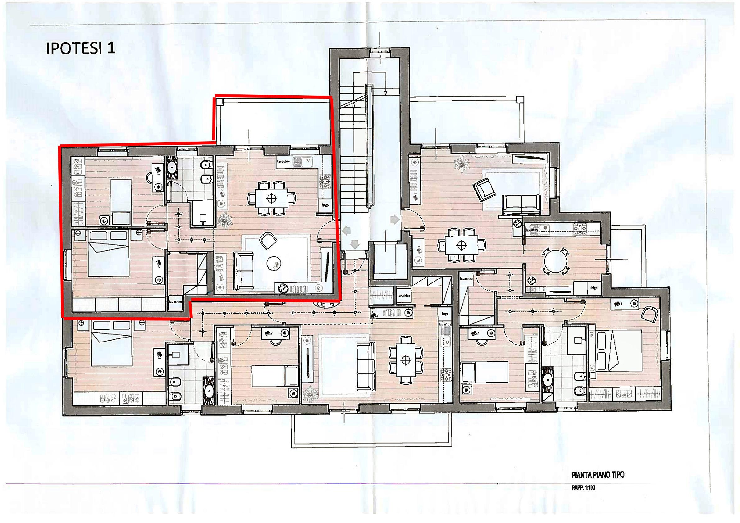 Planimetria 1/1 per rif. IA5735