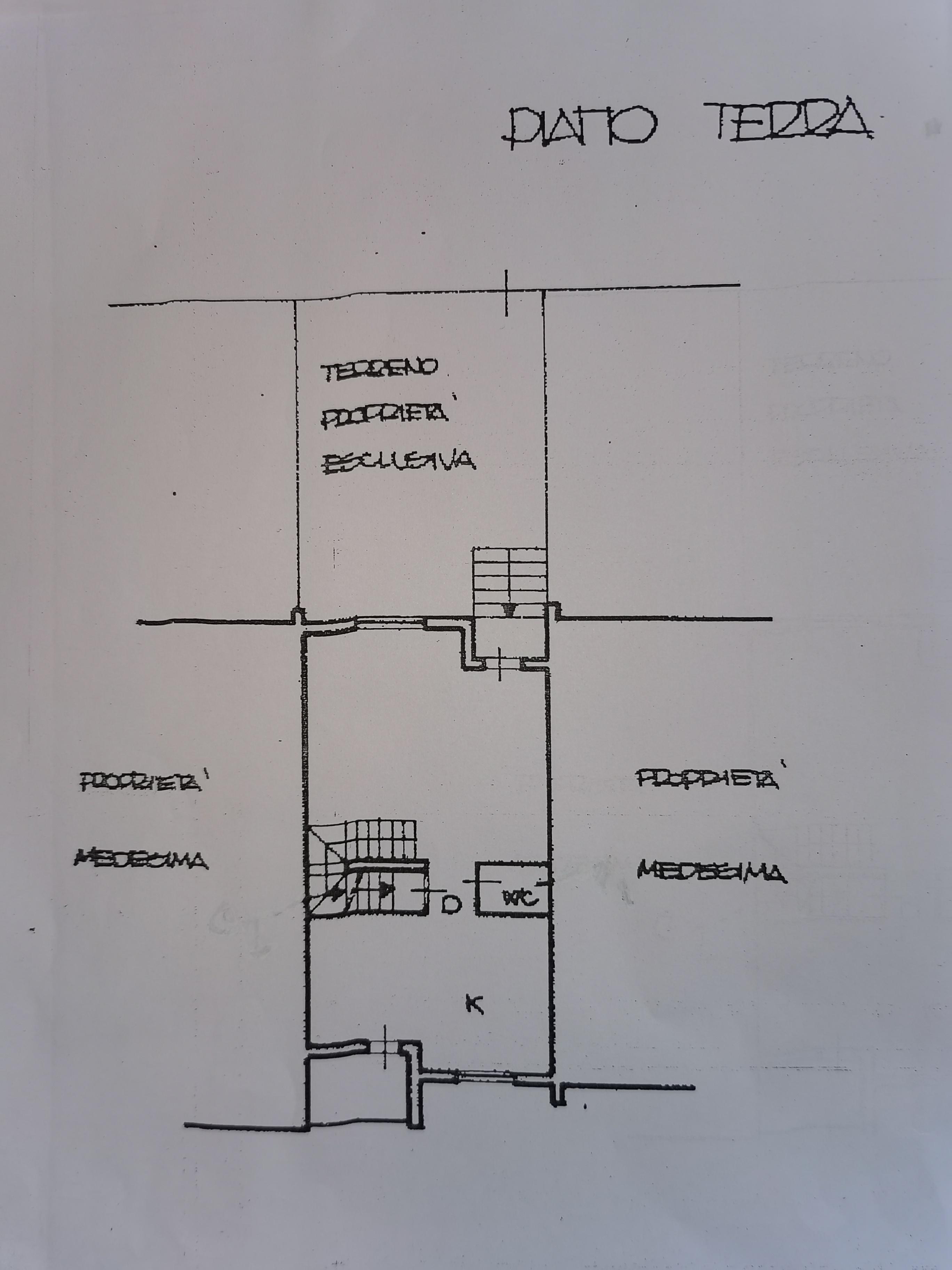 Planimetria 3/4 per rif. IA5741